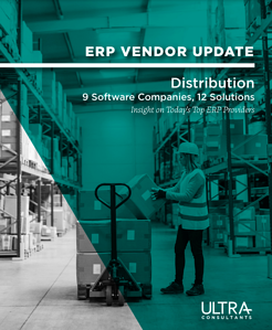 ERP Vendor Update