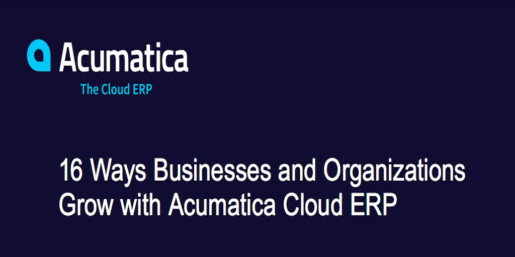 Achieve Business Growth in the Cloud