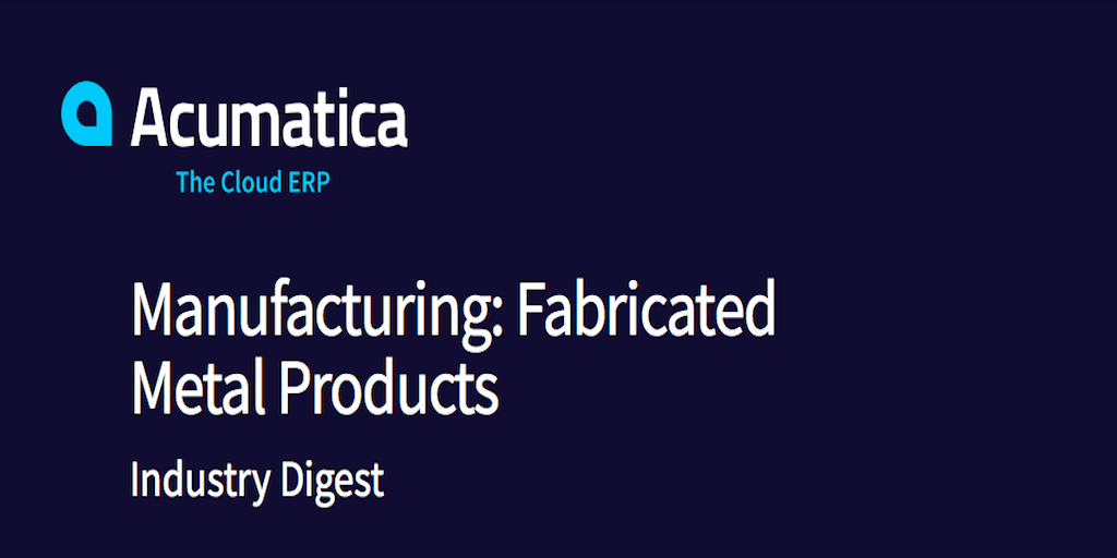 What to Look for in ERP Software for Metal Fabrication