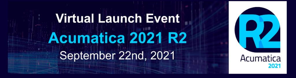Acumatica Cloud ERP 2021 R2 Registration