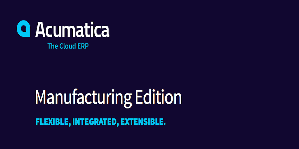 Manufacturing ERP Designed to Grow Your Revenue
