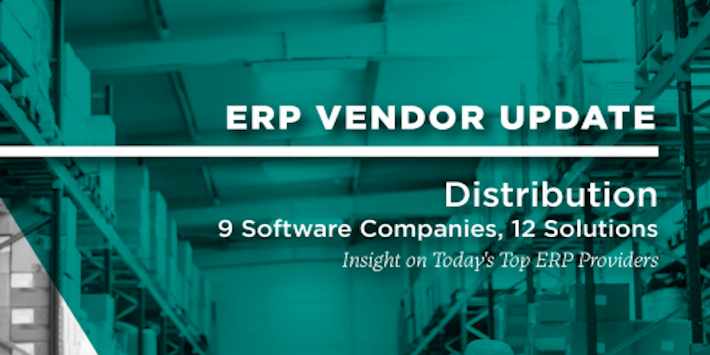 Important Cloud ERP Selection Criteria for Distribution