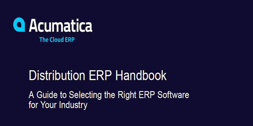 Help Your Business Evolve with Distribution ERP