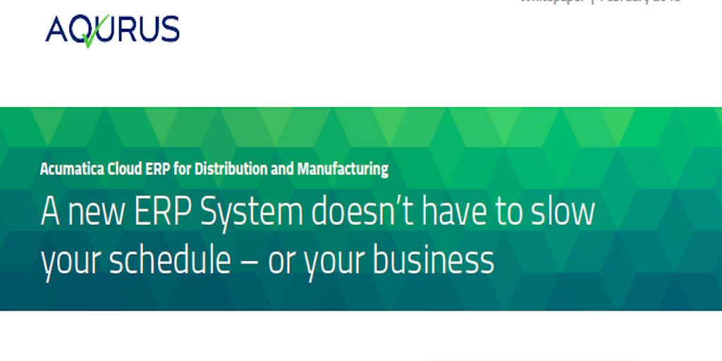 Choose ERP Software Without Slowing Down Your Business