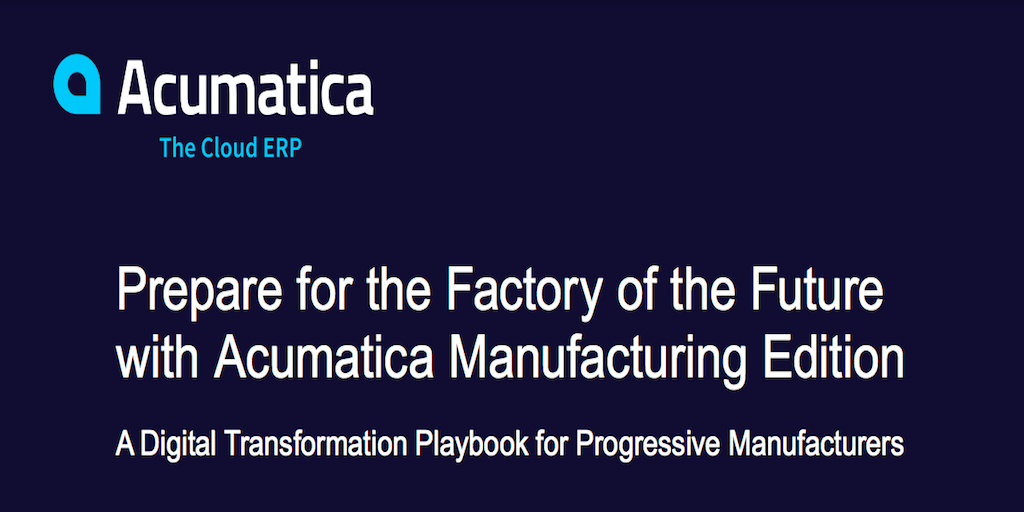 Prepare for the Factory of the Future