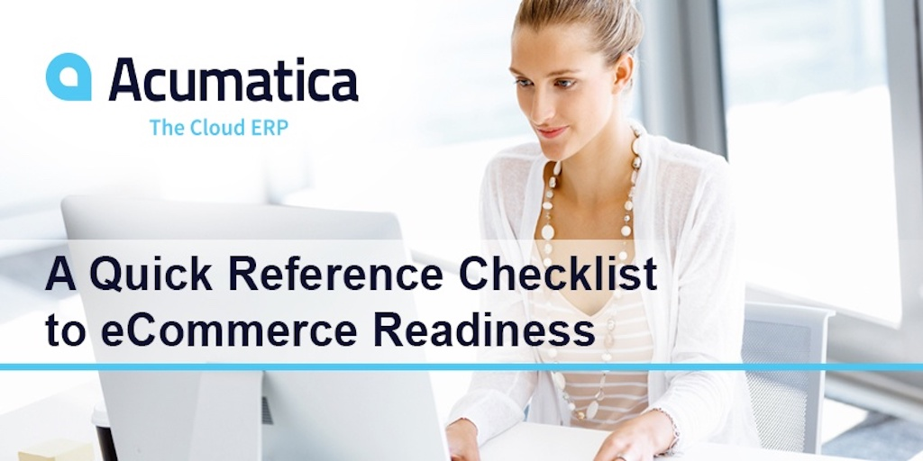 Benefits of eCommerce: Readiness Checklist