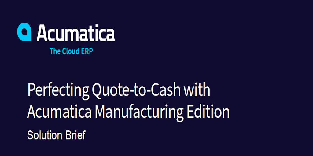 Improve Manufacturing Cash Flow