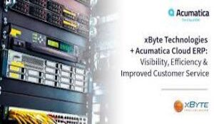 Acumatica Cloud ERP Improves Level of Service for xByte